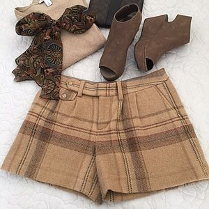 Ralph Lauren Plaid Wool Shorts 💙